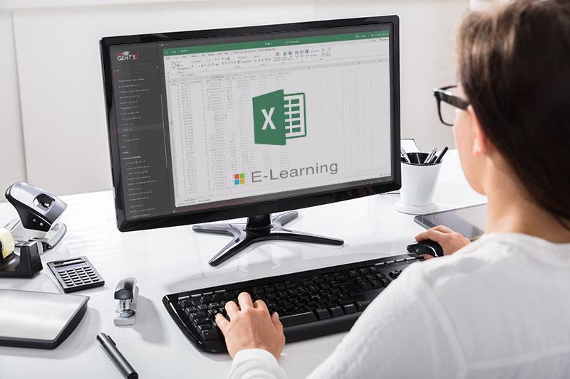 Excel Komplettkurs in fünf Modulen mit über 130 Lernvideos