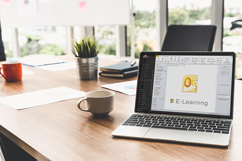 Modularer Outlook E-Learning Kurs für Einsteiger und Fortgeschrittene
